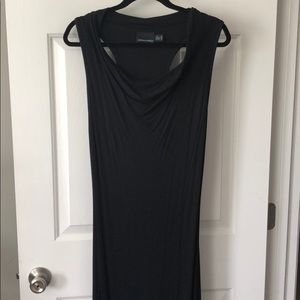Cynthia Rowley Black Maxi Dress w/ Cowl Neck